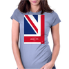 No007 My AUSTIN POWERS minimal movie car poster Womens Fitted T-Shirt