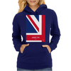 No007 My AUSTIN POWERS minimal movie car poster Womens Hoodie