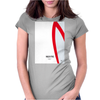 No008 My Speed Racer minimal movie car poster Womens Fitted T-Shirt