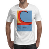 No010 My WAYNES WORLD minimal movie car poster Mens T-Shirt