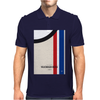 No014 My HERBIE minimal movie car poster Mens Polo