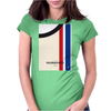 No014 My HERBIE minimal movie car poster Womens Fitted T-Shirt