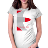 No015 My GHOSTBUSTERS minimal movie car poster Womens Fitted T-Shirt