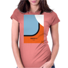 No016 My LE MANS minimal movie car poster Womens Fitted T-Shirt