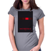 No019 My Knight Rider minimal movie car poster Womens Fitted T-Shirt