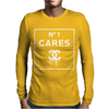 NO1 CARES Mens Long Sleeve T-Shirt