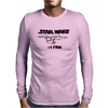 No.1 Fan Star Wars Force Awakens Mens Long Sleeve T-Shirt