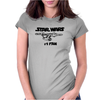 No.1 Fan Star Wars Force Awakens Womens Fitted T-Shirt
