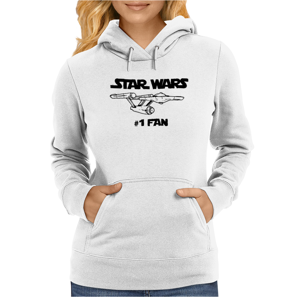 No.1 Fan Star Wars Force Awakens Womens Hoodie