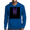 Nocturnal Butterfly Mens Hoodie