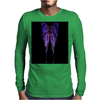 Nocturnal Butterfly Mens Long Sleeve T-Shirt