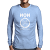 NON - Blood  Flame Mens Long Sleeve T-Shirt