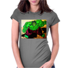 NORA'S HULK Womens Fitted T-Shirt