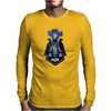 Norse Lightning Bolt Thor's Hammer Mens Long Sleeve T-Shirt