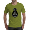 Norse Thor's Hammer with Ravens Mens T-Shirt