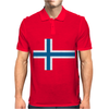 Norway International Support Your Country  Sport Flag Mens Polo