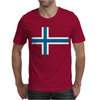 Norway International Support Your Country  Sport Flag Mens T-Shirt