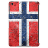 Norwegian Flag - Distressed Tablet