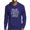 Not All Who Wander Are Lost Mens Hoodie
