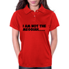 Not the Messiah Womens Polo