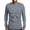 Not Today Mens Long Sleeve T-Shirt