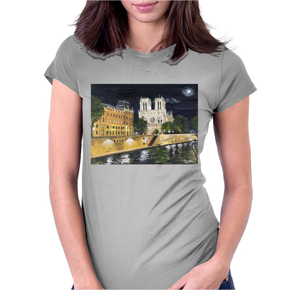 Notre Dame Womens Fitted T-Shirt