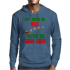NOW WATCH ME WHIP WATCH ME SLEIGH SLEIGH Mens Hoodie