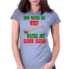 NOW WATCH ME WHIP WATCH ME SLEIGH SLEIGH Womens Fitted T-Shirt