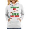 NOW WATCH ME WHIP WATCH ME SLEIGH SLEIGH Womens Hoodie