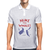 Nuke The Whales Funny Mens Polo