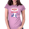 Nuke The Whales Funny Womens Fitted T-Shirt