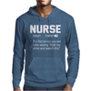 Nurse The first person you see after saying hold my drink and watch this Mens Hoodie