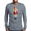Nutty Nutcracker King Mens Long Sleeve T-Shirt