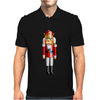 Nutty Nutcracker King Mens Polo