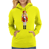 Nutty Nutcracker King Womens Hoodie