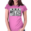 NWA Narcos With Attitude El Chapo Guzman Womens Fitted T-Shirt
