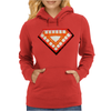 Nwt Iron Man Classic Heart Core Glow in Dark Marvel Womens Hoodie
