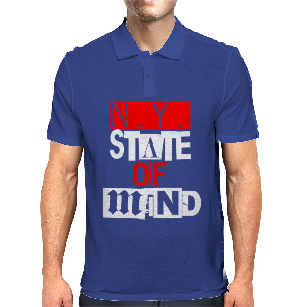 Ny State Of Mind Mens Polo