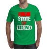Ny State Of Mind Mens T-Shirt
