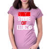 Ny State Of Mind Womens Fitted T-Shirt