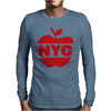 NYC Big Apple Mens Long Sleeve T-Shirt