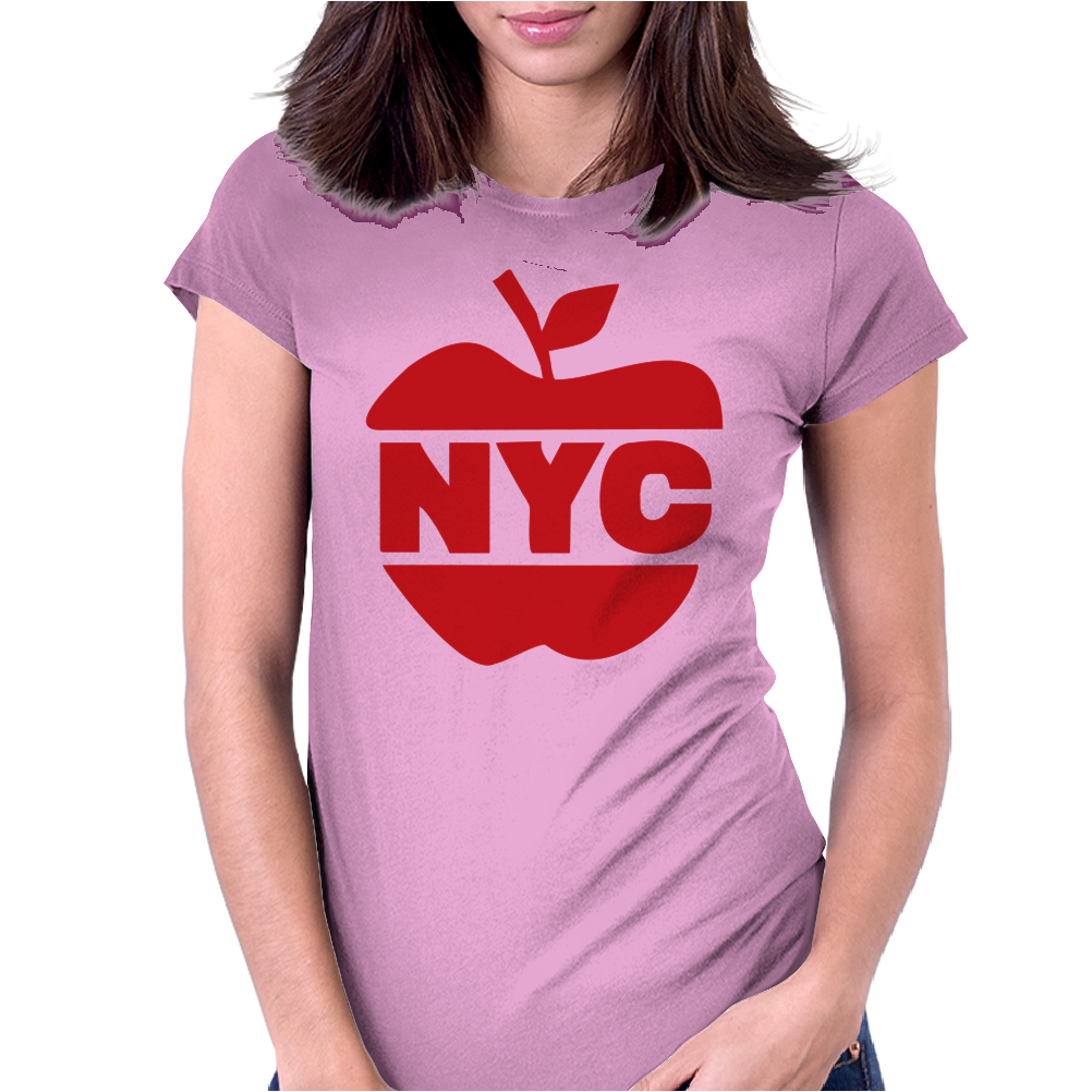 NYC Big Apple Womens Fitted T-Shirt