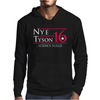 Nye Tyson '16 Science Rules Mens Hoodie