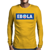 Obama Ebola Spoof Mens Long Sleeve T-Shirt