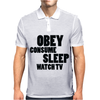 OBEY CONSUME Mens Polo