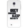 OBEY CONSUME Phone Case