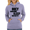 OBEY CONSUME Womens Hoodie