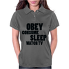 OBEY CONSUME Womens Polo
