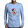 Obey Mickey  Mens Long Sleeve T-Shirt