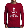 Obey The Beard 1 Mens Long Sleeve T-Shirt